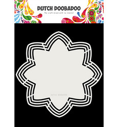 Dutch DooBaDoo Shape Art Octo Flower -sapluuna