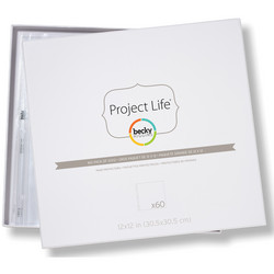 Project Life Page Protectors 12
