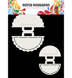 Dutch DooBaDoo Shape Art Beach Bag -sapluuna