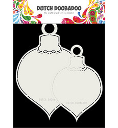 Dutch DooBaDoo Shape Art Christmas Balls -sapluuna