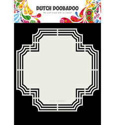 Dutch DooBaDoo Shape Art Cross -sapluuna