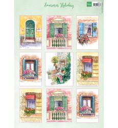 Marianne Design korttikuvat Summer Holiday
