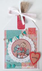 Marianne Design Shaker kuvut, ympyrä, 10 kpl