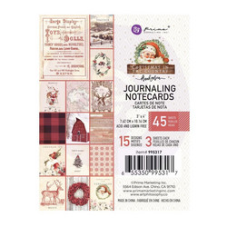 Prima Christmas In The Country Journaling Notecards,  3