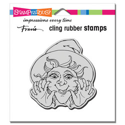 Stampendous leimasin Surprise Witch