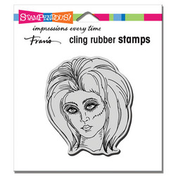 Stampendous leimasin Zombie Girl