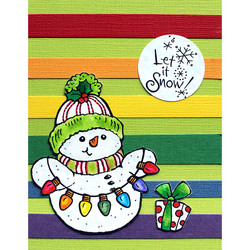 Stampendous leimasinsetti Snow Lights