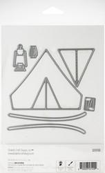 Elizabeth Craft Designs Tent -stanssisetti