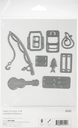 Elizabeth Craft Designs Camping Accessories -stanssisetti