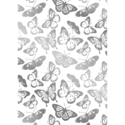 Gemini Foil Stamp Die -kuviolevy Beautiful Butterflies Background