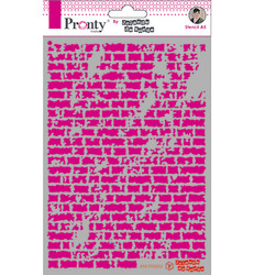 Pronty sapluuna Bricks by Jolanda