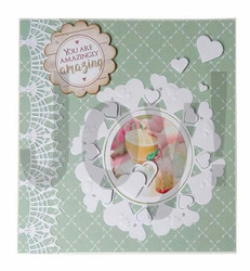 Joy! Crafts stanssisetti Billie's Heart Circle