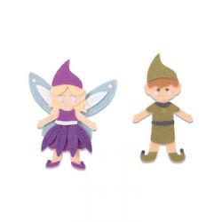 Sizzix Bigz L stanssi Elf & Fairy