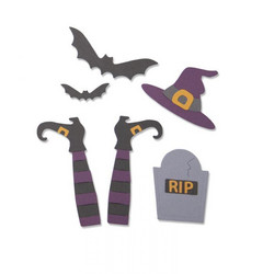 Sizzix Thinlits stanssisetti Spooky Witch