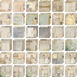 Tim Holtz Idea-Ology paperipakkaus Memoranda, 12