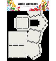 Dutch Doobadoo Fold Card Art Dog House -sapluuna
