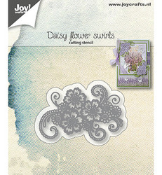Joy! Crafts stanssi Daisy Flower Swirls