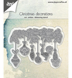 Joy! Crafts stanssi Christmas Decorations