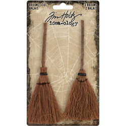 Tim Holtz Idea-Ology Broomsticks -koristeet