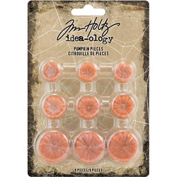 Tim Holtz Idea-Ology Pumpkin Pieces -koristeet