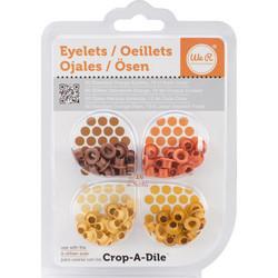 We R Eyelets Standard, sirkat, 60 kpl, oranssi
