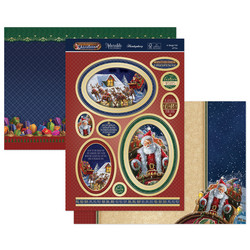 Hunkydory 'Twas the Night before Christmas Luxury Topper -pakkaus, A Sleigh Full of Fun