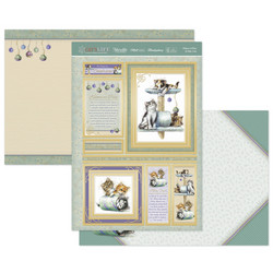 Hunkydory Cat's Life Luxury Topper -pakkaus, Kittens at Play & Kitty Cats
