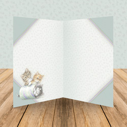 Hunkydory It's A Cat's Life Luxury Card Inserts -paperit
