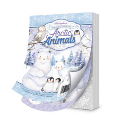 Hunkydory The Little Book of Arctic Animals -korttikuvat