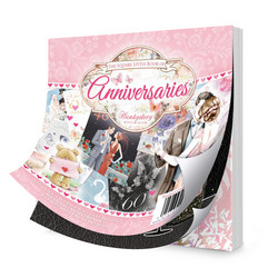 Hunkydory The Little Book of Anniversaries -korttikuvat