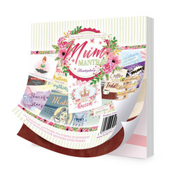 Hunkydory The Little Book of Mum Mantras -korttikuvat