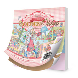 Hunkydory The Second Square Little Book of Golden Oldies -korttikuvat