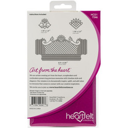 Heartfelt Creations Fancy-Fold Pocket & Accents -stanssisetti