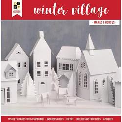DCWV askartelupakkaus Winter Village