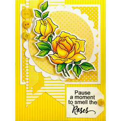 Stampendous leimasinsetti Rose Gift