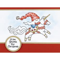 Stampendous leimasin Unicorn Gnome