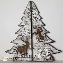CraftEmotions Christmas Tree 3D -stanssisetti