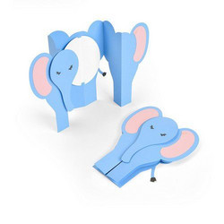 Sizzix Thinlits Fold-A-Long stanssi Elephant