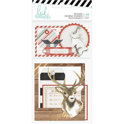 Heidi Swapp Winter Wonderland Ephemera Die-Cuts, leikekuvat