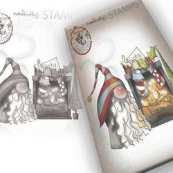 Polkadoodles Gnome More Waiting -leimasin