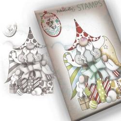 Polkadoodles Gift of Christmas Gnomes  -leimasin