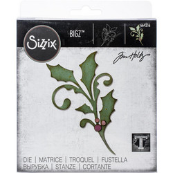 Sizzix Tim Holtz Bigz stanssi Seasonal Scroll