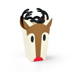 Sizzix Thinlits stanssisetti Reindeer Bag