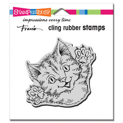 Stampendous leimasin Cat Attack