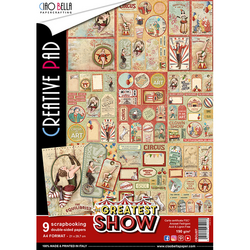 Ciao Bella Creative Pad paperipakkaus Greatest Show