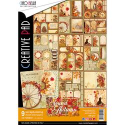 Ciao Bella Creative Pad paperipakkaus The Sound of Autumn