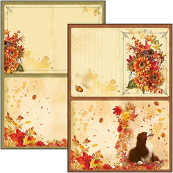 Ciao Bella Creative Pad paperipakkaus The Sound of Autumn
