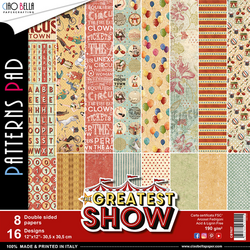 Ciao Bella Patterns Pad paperipakkaus The Greatest Show, 12