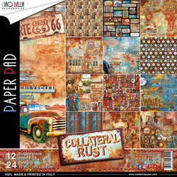 Ciao Bella paperipakkaus Collateral Rust, 12