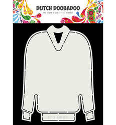 Dutch DooBaDoo Card Art Christmas Sweater -sapluuna